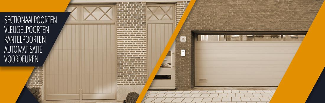 BUMA uit Wilrijk Antwerpen heeft een gevarieerd aanbod garagepoorten en voordeuren: sectionale poorten, kantelpoorten en veiligheidsvoordeuren