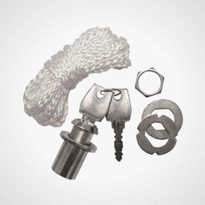 Noodontkoppeling en cylinder