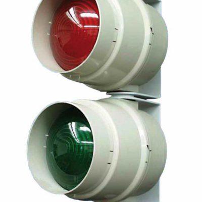 Verlichting rood groen